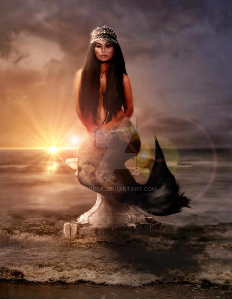 Mermaid Queen By Xadrea On DeviantArt