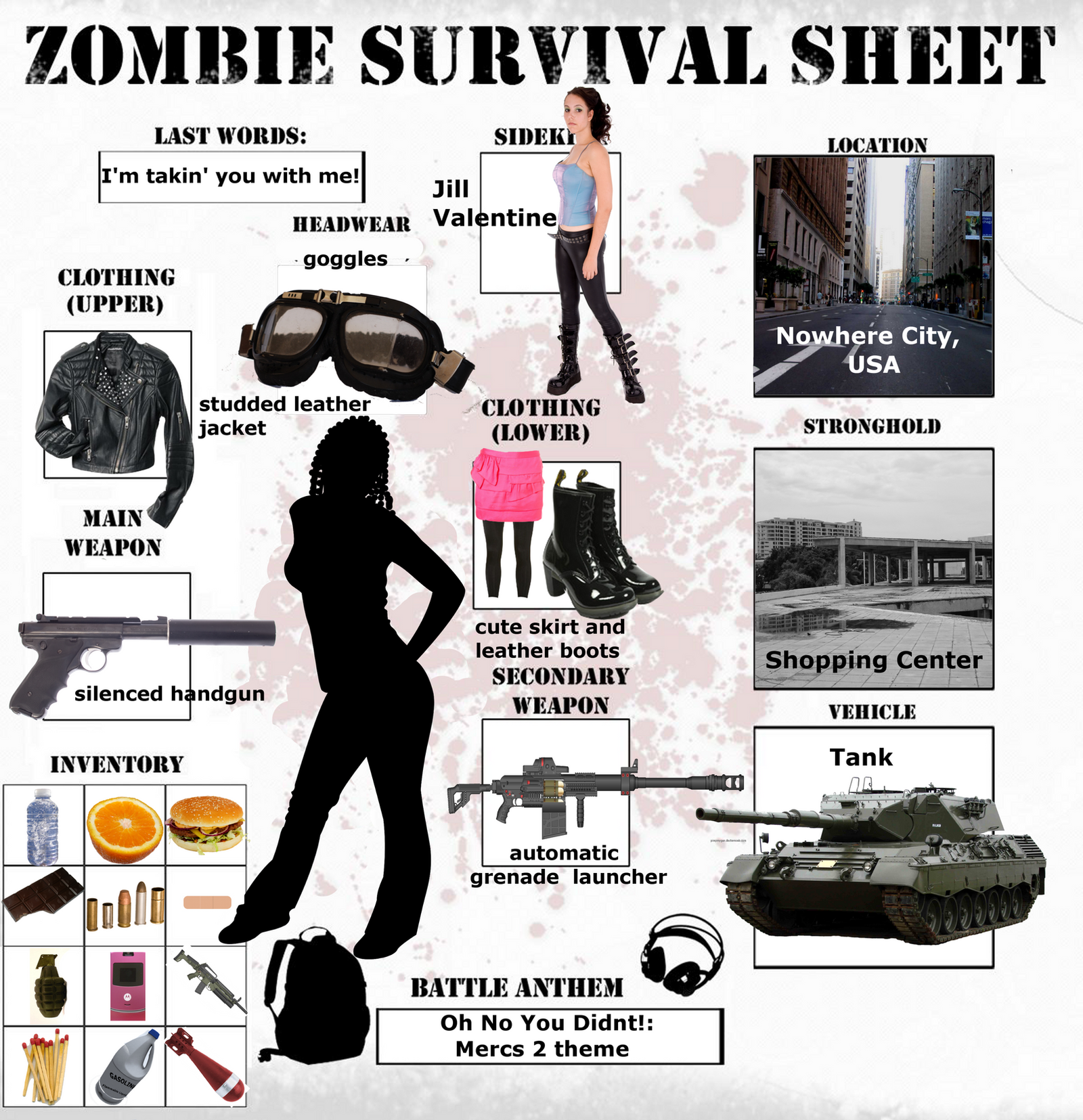 Zombie survival supply list