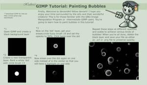 GIMP Tutorial: Bubbles