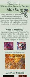 Watercolor Tutorial Series: Masking by Xadrea
