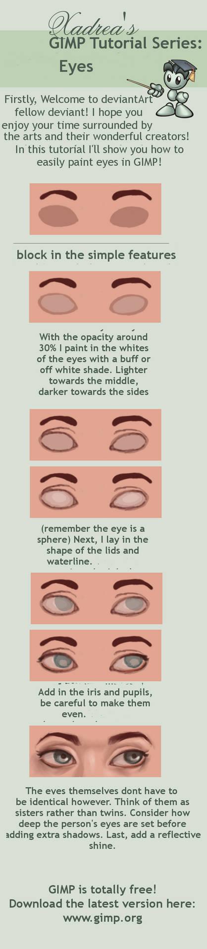 GIMP Tutorial: Eyes