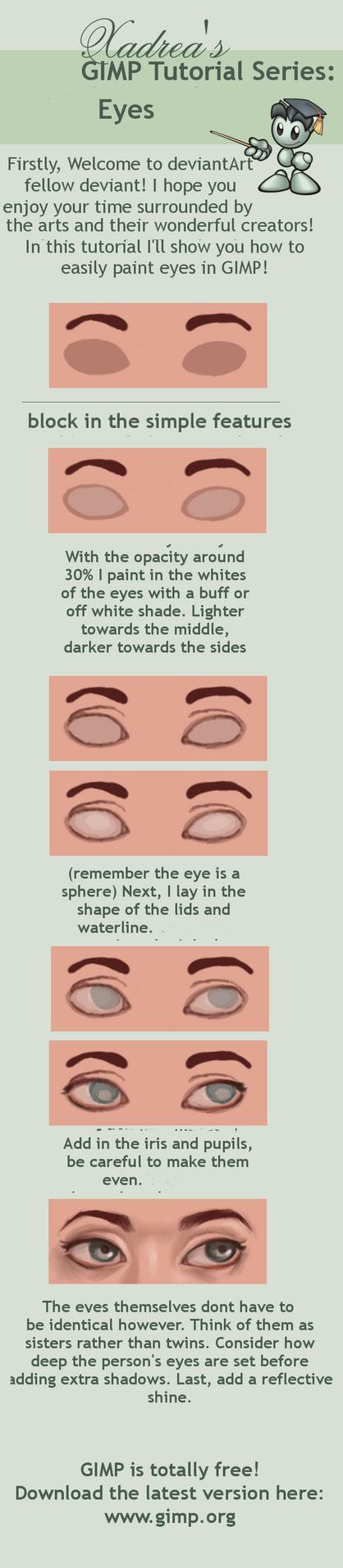 GIMP Tutorial: Eyes by Xadrea