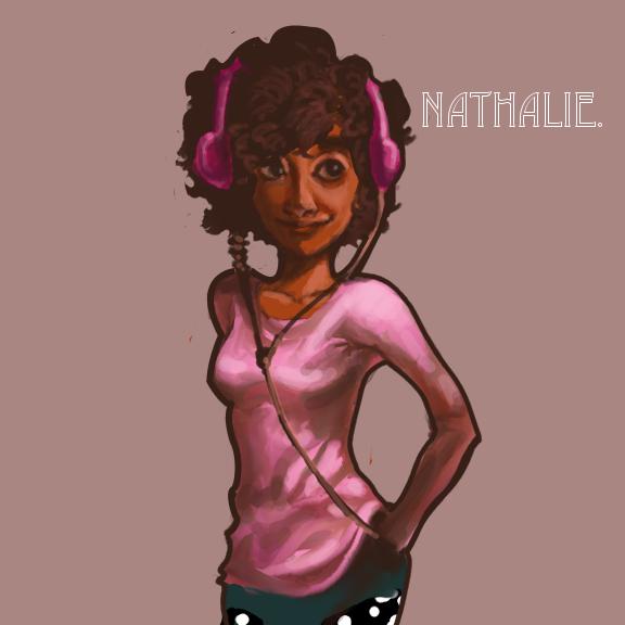 Nathalie. by Xadrea