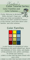 Color Tutorial Series: Color Families and Schemes