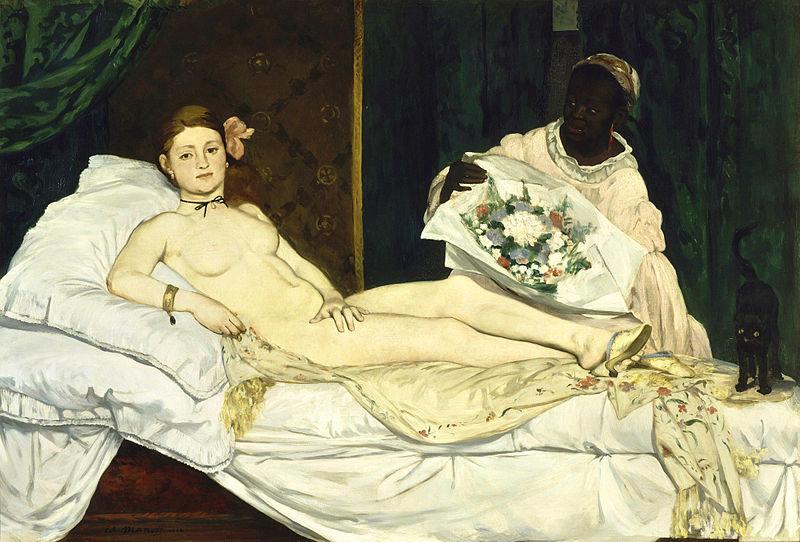 800px-Edouard Manet - Olympia - Google Art Pro by Xadrea