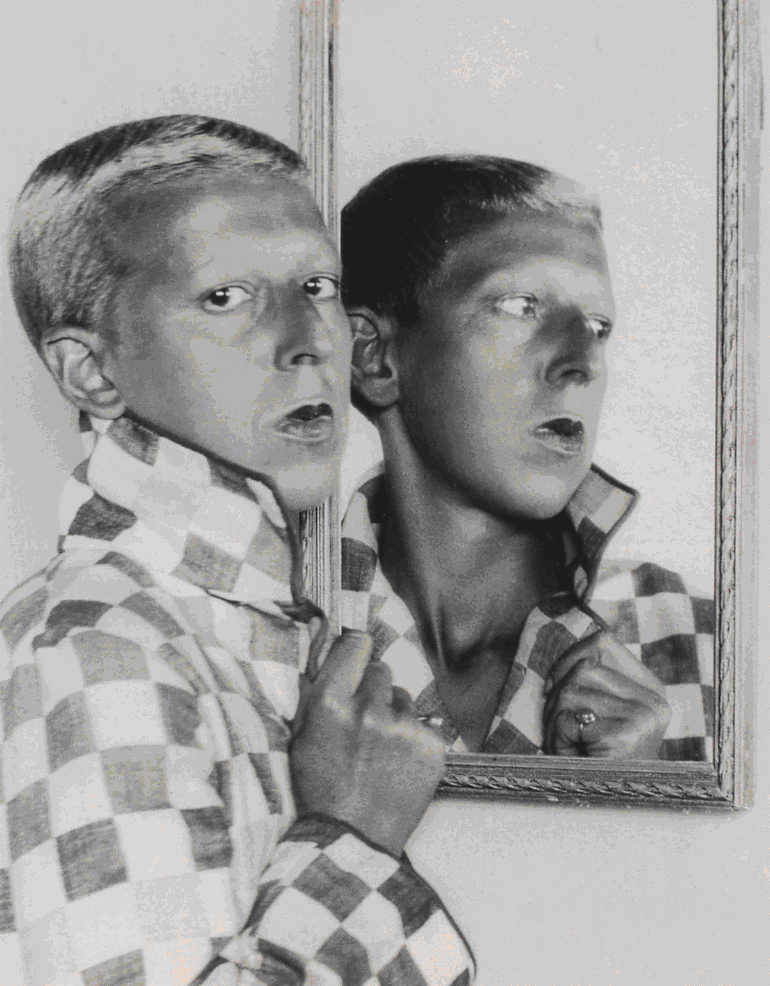 Claude Cahun Selfportrait by Xadrea
