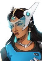 Symmetra [Overwatch] by darwh