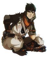 Genji [Overwatch] by darwh
