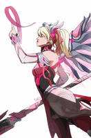 Pink Mercy [Overwatch] by darwh
