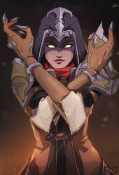 Sombra / Demon Hunter [Overwatch] by darwh
