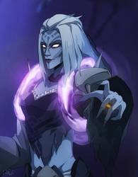 Moira Banshee [Overwatch] by darwh
