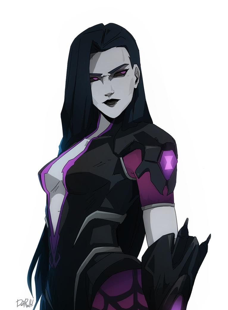 Spider Widowmaker [Overwatch] by darwh