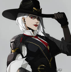 Ashe [Overwatch] by darwh