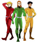 Totally Spies by darwh
