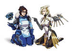 Mei and Mercy [Overwatch 2]