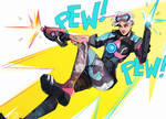 Comic Book Tracer [Overwatch]