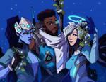 Widowmaker, Baptiste and Mercy [Overwatch]