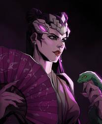 Widowmaker - Pale Serpent [Overwatch]