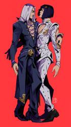 Abbacchio and Bruno [JJBA]