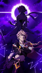 Aether and Lumine [Genshin Impact]