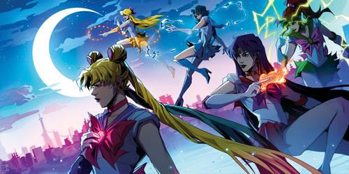 Sailor Senshi [Sailor Moon] by darwh