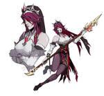 Rosaria [Genshin Impact] by darwh