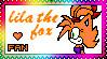 lila the fox stamp by shadowandtikalfan