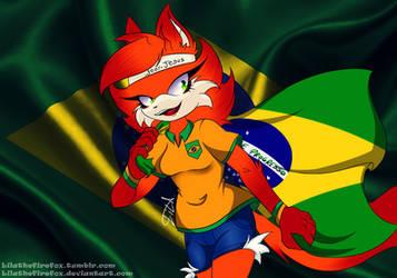 World Cup 2018 by LilaTheFireFox