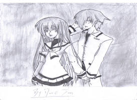manga girl and boy