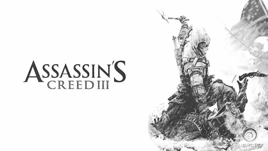 Assassins creed 3 conner wallpaper pencil sketch by mangamaster12