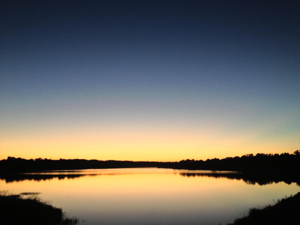 lac coucher de soleil - photo #11