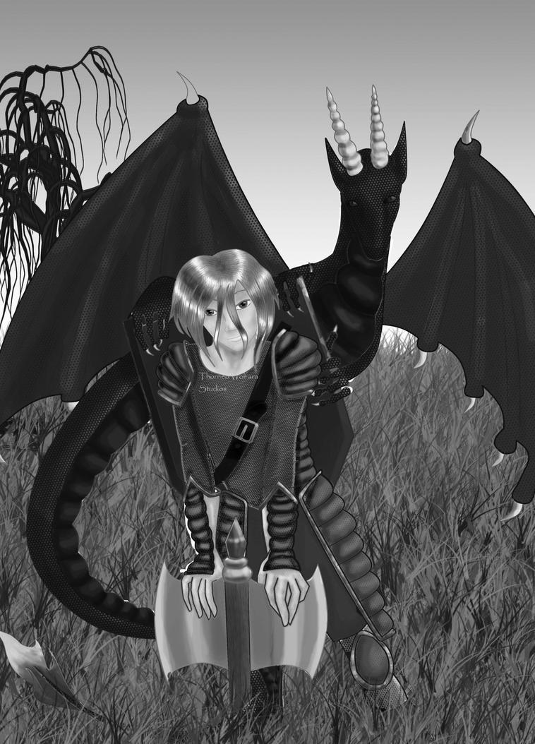 Odd Dragon Ver. 2 by Thorned-Wolfara-Rose