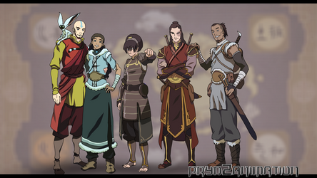 Old friends * Avatar * by Prydley-Studios