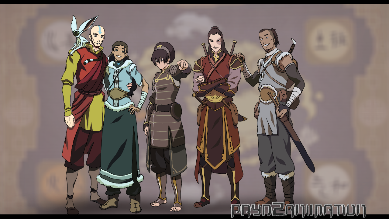 aang and others on aangxtylee deviantart