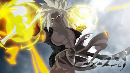 Goku super  saiyan 5-5 (uncontrolled ) by Prydley-Studios