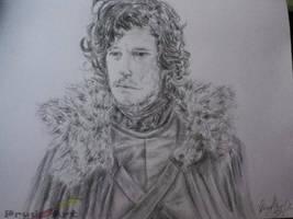 Game of Thrones - Jon snow - READ DESCRIPTION! by Prydley-Studios