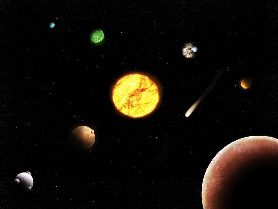 Another Solar System by Gian519 on deviantART