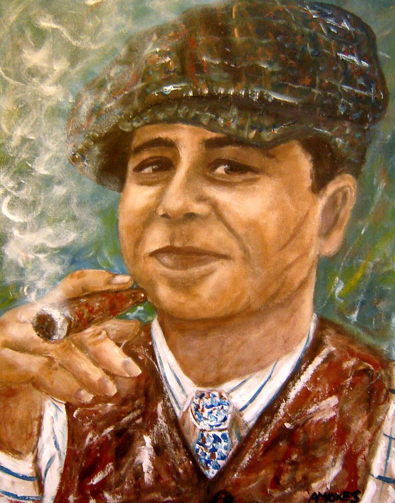 Alphonse Gabriel Al Capone by amoxes