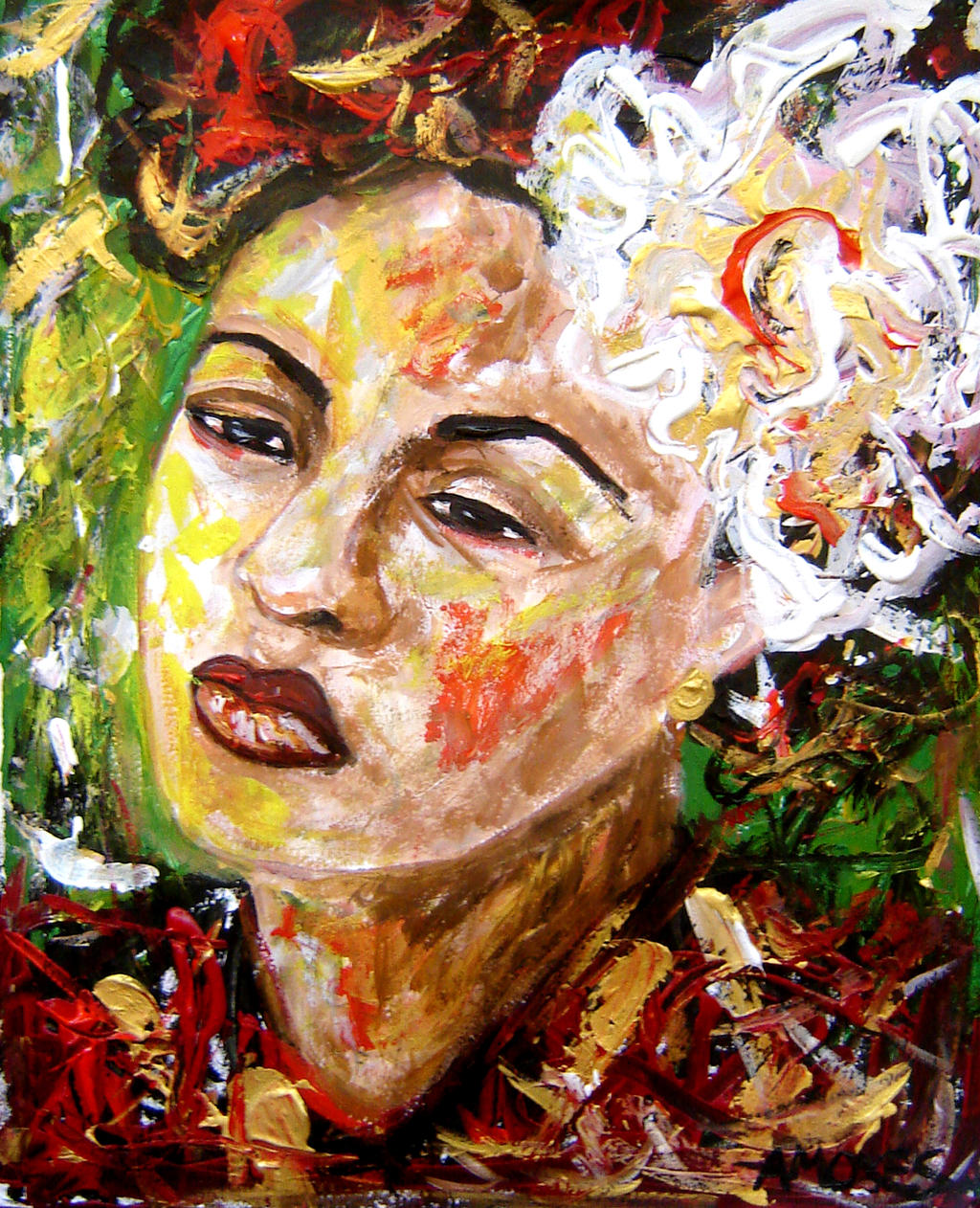 Billie Holliday 5 by amoxes