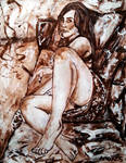 Burnt Umber ladies no 47