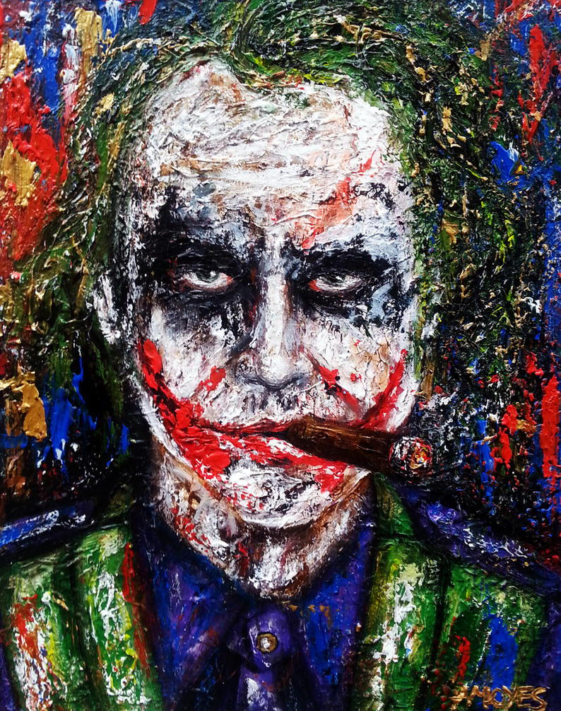 Joker by amoxes