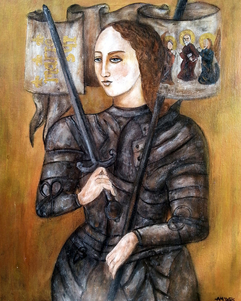 Jeanne la Pucelle by amoxes