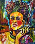Frida and her Puros