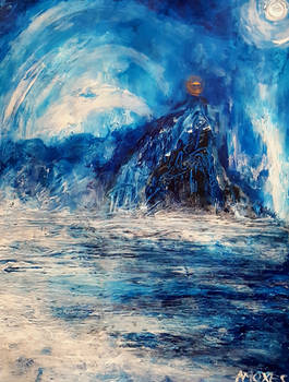 The cavern of the Ice Queen