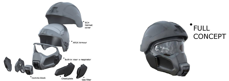 OSPREY Enhanced Combat Helmet by TheMakoHighlander on DeviantArt