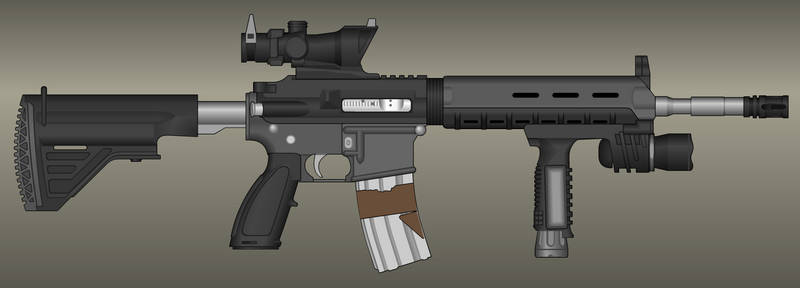 Guns, Firearms, Weapons, Equipment, Soldiers on Future-war-club