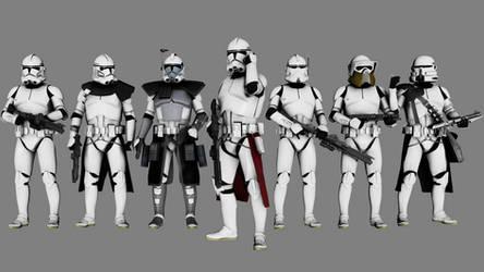 Clone Troopers | Standard Clone Corps