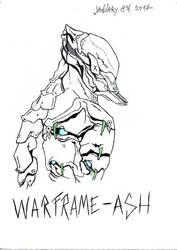 Warframe Fanart by ChildOfMorpheus