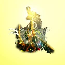 Warframe Album Cover v2 - No text by ChildOfMorpheus