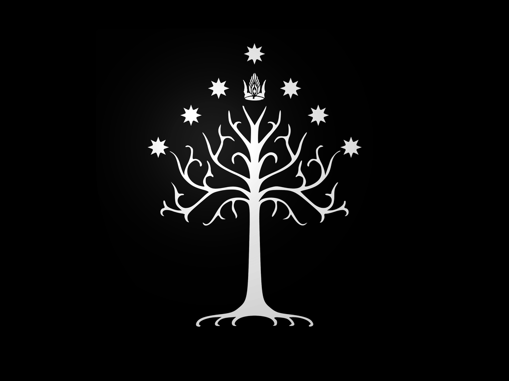 black and white tree wallpaper